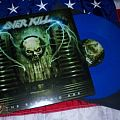 Overkill - Tape / Vinyl / CD / Recording etc - Overkill The Electric Age blue vinyl w/ poster