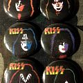 KISS pins (Eric, Vinnie, Paul, Gene, Ace, Peter) Other Collectable