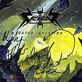 "Vektor - Tape / Vinyl / CD / Recording etc - Vektor - Outer Isolation autographed ""Tour Edition"" CD"
