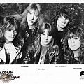 "Flotsam And Jetsam - Other Collectable - Flostam & Jestam ""No Place for Disgrace"" 8x10 promo photo"