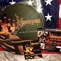 Vengeance Rising - Human Sacrifice picture LP Tape / Vinyl / CD / Recording etc