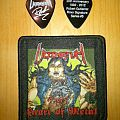 Ultimatum - Other Collectable - Ultimatum Heart of Metal stitched patch and guitar pick