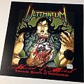 "Ultimatum Heart of Metal 12"" x 12"" promo flat Tape / Vinyl / CD / Recording etc"