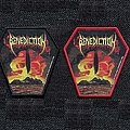 Benediction - Patch - Benediction - Subconscious Terror OFFICIAL woven patch