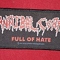 Cannibal Corpse Full of Hate Original Vintage Patch