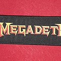 Megadeth Strip Patch