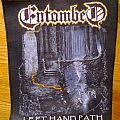 Entombed - Patch - Entombed - Left hand path back patch