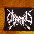 Ofermod logo embroidered patch small