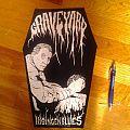 Graveyard - Hisingen blues back patch