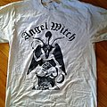 white Angel Witch, Baphomet shirt.