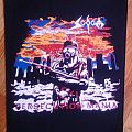 Sodom - Persecution Mania bootleg backpatch
