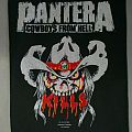 Pantera Vintage Back Patch
