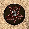 Motley Crue European Tour Patch 1984