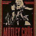 Motley Crue Vintage Back Patch