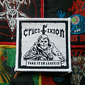 Crucifixion- Take it or leave it Patch