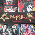 Midnight- Black Rock N Roll Patch