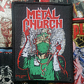 Metal Church- Fake healer  Patch