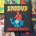 Exodus- Fabulous Disaster  Patch