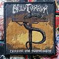 Holy Terror- Terror and submission  Patch