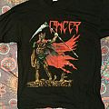 "Cancer - ""Death shall rise"" Euro tour '91 shirt"