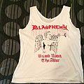 """Blasphemy - TShirt or Longsleeve - Blasphemy """"Blood upon"""" Orig Demo shirt"""