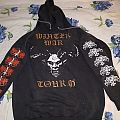 Marduk / Enslaved winter war tour hoodie Hooded Top