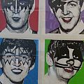 Kiss Beatles Print Other Collectable