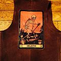 Occult Leather Battle Jacket