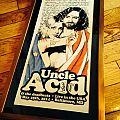 Uncle Acid and the deadbeats MDF autographed print
