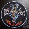 "Official HOLY TERROR ""Mind Wars"" woven patch"