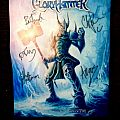 Gloryhammer backpatch autographed
