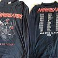 Annihilator King of the Kill long sleeve 1995 tour