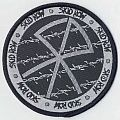 Skid Row logo/barbed wire woven patch