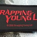 SYL / Strapping Young Lad Woven Patch