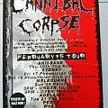 Cannibal Corpse 1995 Australian Tour Poster Other Collectable