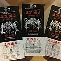 Three tickets to S.B.M.S. Festival (Singapore)  Other Collectable