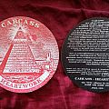 CARCASS Heartwork Promotional Stickers - Round version Other Collectable