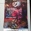 Paradise Lost signed 1995 Australian Tour Poster  Other Collectable