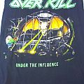 Overkill Under The Influence vest for trade/sale TShirt or Longsleeve