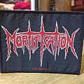 Mortification-Logo patch