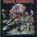 Iron Maiden - Patch - Iron maiden hallowed be thy name back patch