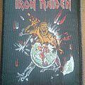 Iron Maiden - Patch - Iron Maiden world piece