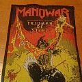 Manowar - Patch - The triumph of the steel