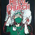 Metal Church - Patch -  Fake healer back patch