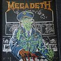 Megadeth - Patch - Holy wars patch