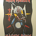 Iron Maiden - Patch - Maiden japan Back patch