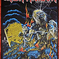 Iron Maiden - Patch - Live after death Back patch