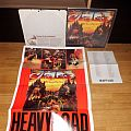HEAVY LOAD - FULL SPEED AT HIGH LEVEL LP w/ INSERT AND POSTER