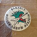 PARALEX Satan's Arrow Strikes pin badge 1980 Other Collectable