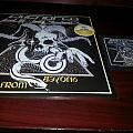 Enforcer From Beyond (Yellow lp) and patch